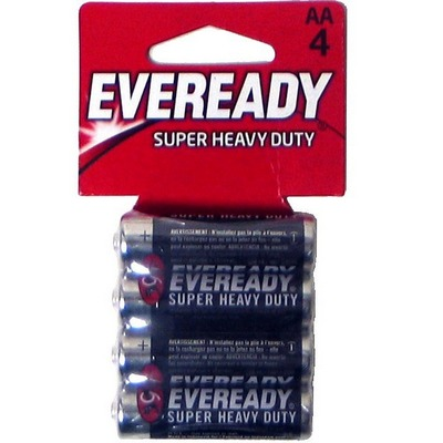 HV Duty 24-AA-4p Carbon Zinc Eveready
