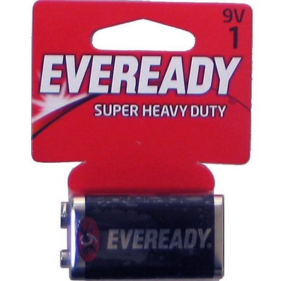 EVEREADY Heavy Duty 18-9v-1pk batteries