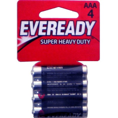 EVEREADY Heavy Duty 24-AAA-4pk