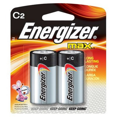 ENERGIZER 12-C-2 (USA) E93B2 Alkaline card of 2