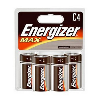 ENERGIZER 24-C-4 (USA) E93B4 Alkaline card of 4