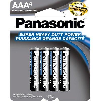PANASONIC 48-AAA-4pk Heavy Duty Battery