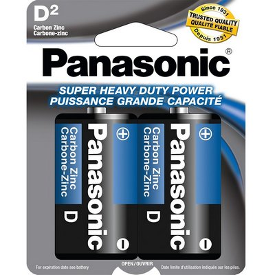 PANASONIC 48-D-2pk Heavy Duty Battery