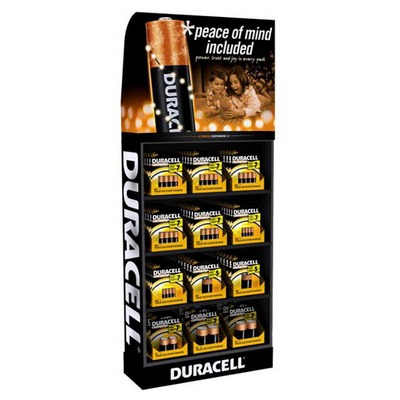 DURACELL USA Display 75pk/AA C D 9V AAA Display