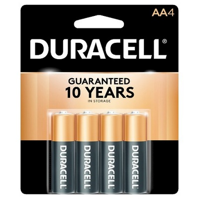 DURACELL 14-AA-4 (USA) MN1500B4 carded