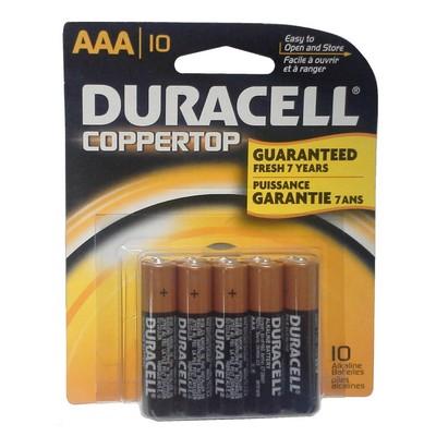 Duracell 10-10pk-AAA-10 (USA MN2400B10