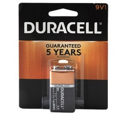 Duracell 12-9V-1 (USA) MN1604B Carded