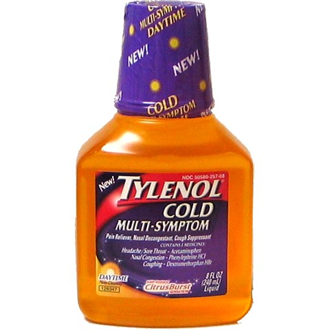 TYLENOL Daytime Multi/Symptoms Cold 12-8oz