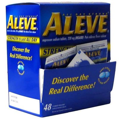 ALEVE CAPLETS 1s box of 48