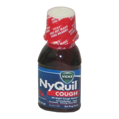 NYQUIL COUGH 12-6oz Cough Syrup (Cherry)