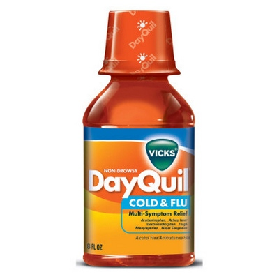 DAYQUIL 12-8oz Liquid Cold & Flu