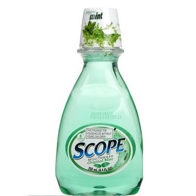 SCOPE 12-8.4oz (250ml) original Mint (green)