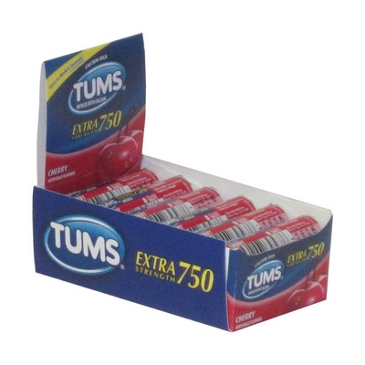 TUMS singles box/12 Cherry