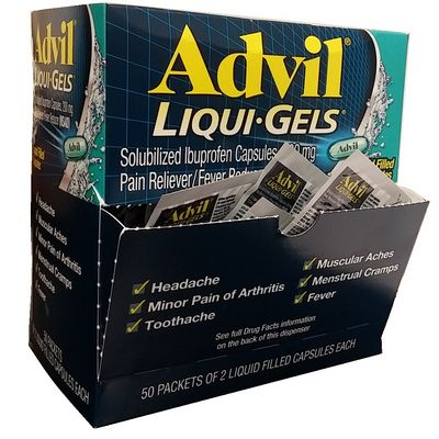 ADVIL LIQUI-GELS 2s Box of 50