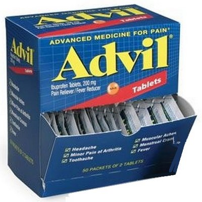 ADVIL 2s Tablets box of 50