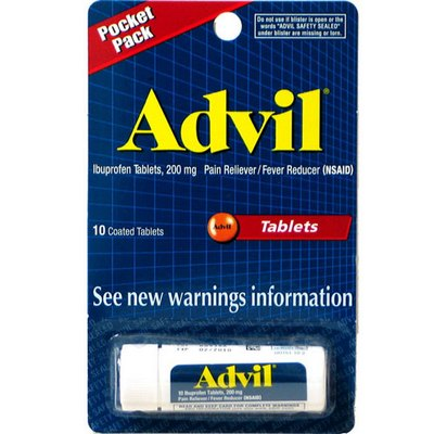 ADVIL 12-10ct Tablets