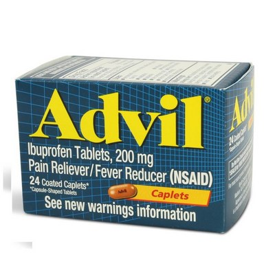 ADVIL CAPLETS 12-24ct