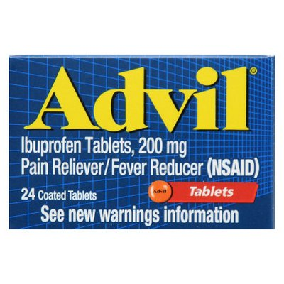 ADVIL TABLETS 12-24ct