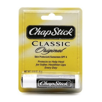 CHAPSTICK regular Indv Carded Display of 24
