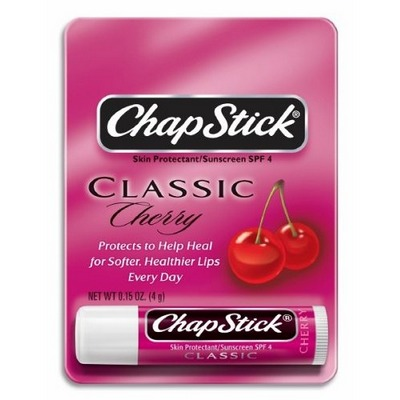 CHAPSTICK cherry Indv Carded Display of 24