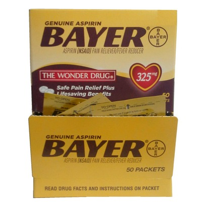BAYER asp 2s box of 50s