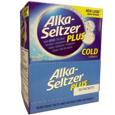 ALKA SELTZER + COLD 20-2pk