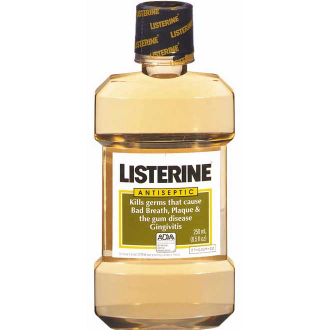 LISTERINE original 12-250ml Liquid MouthWash