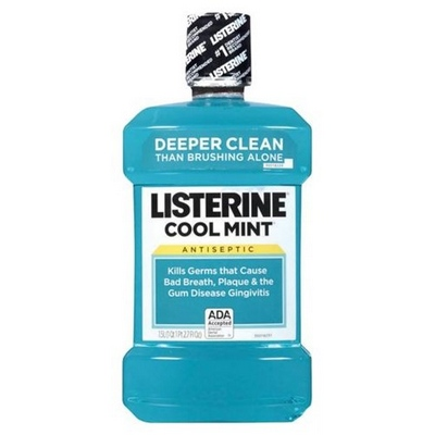 LISTERINE Cool Mint 12-250ml Liquid MouthWash