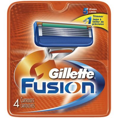GILLETTE FUSION 12-Rgular Cardriges 4ct
