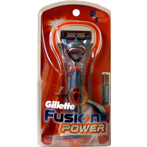 GILLETTE FUSION Power 12-Razor + 1 cartridge