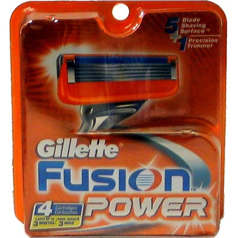GILLETTE FUSION Power 12-Cartridges 4ct