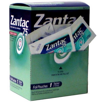 ZANTAC 75 2s Box of 25