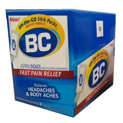 BC Powder 2s Box of 36