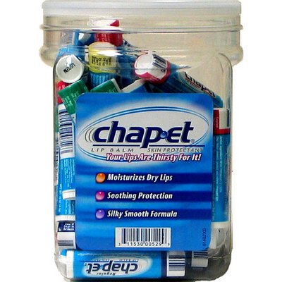 Chap-et 48ct counter display